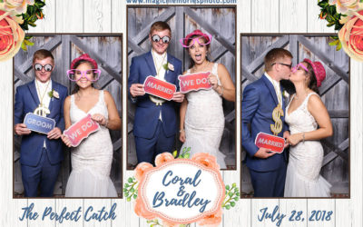 Coral & Bradley's Photo Booth Rental | Spanish Fort AL