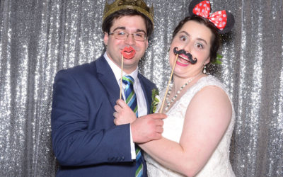 Liz and Paul's Wedding Photo Booth | Mobile AL