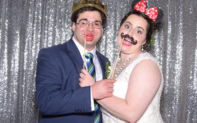 Liz and Paul's Wedding Photo Booth | Mobile AL